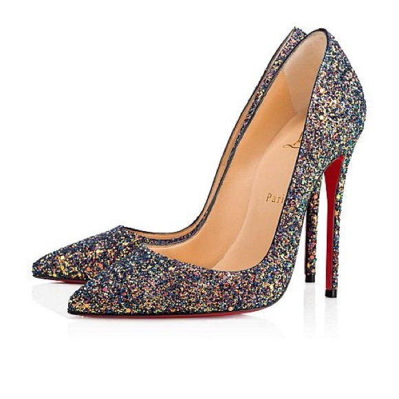 a421e3d735f0 Christian Louboutin Shoes | So Kate Glitter China Blue | Poshmark